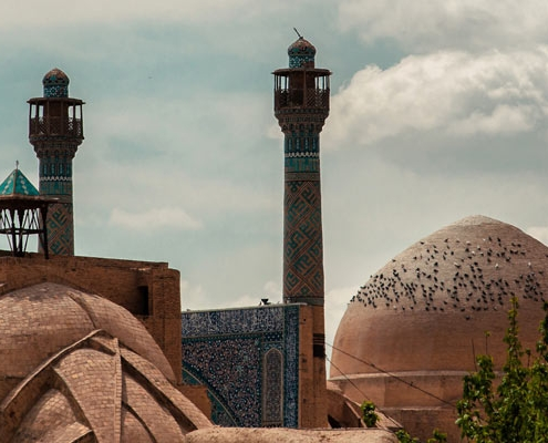 Jameh Mosque takes the third place on top 10 attractions lis
