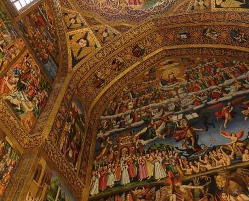 Vank Cathedral is one of the top 10 attractions in Isfahan.