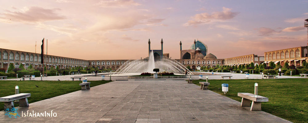Naqsh-e Jahan Square is one of the UNESCO world heritage sites in isfahan