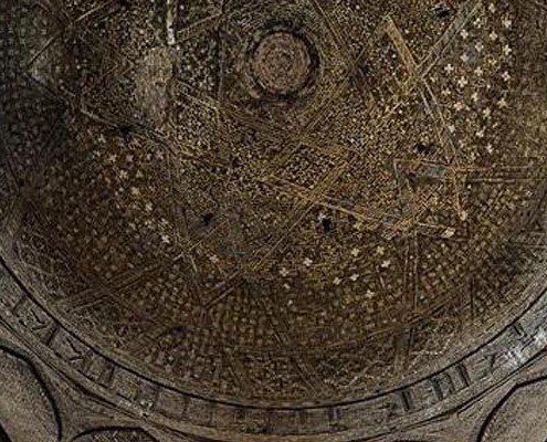 Jameh Mosque is one of the UNESCO world heritage sites in isfahan