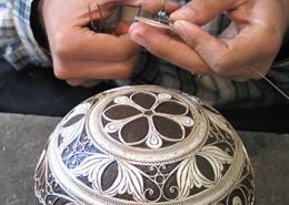 Filigree Making-IsfahanInfo