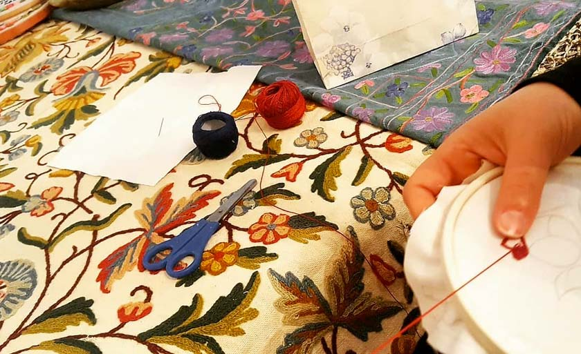 Traditional Embroidery-IsfahanInfo